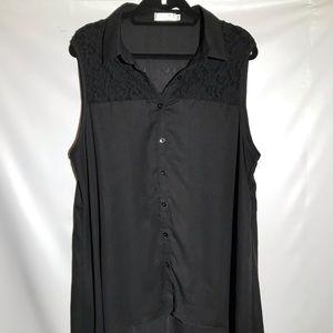 Xia Mi Sleeveless Shirt Plus Size